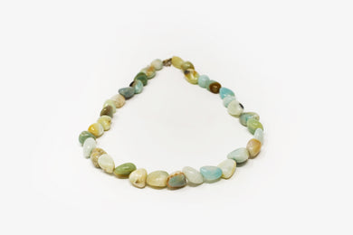 Tumbled Chrysoprase Necklace