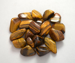 Tiger's Eye Tumbled - Small
