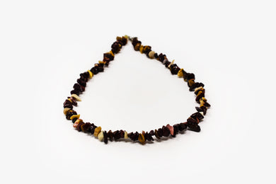 Mookaite Jasper Chip Necklace