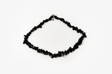 Obsidian Chip Necklace