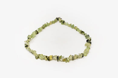 Prehnite Chip Necklace