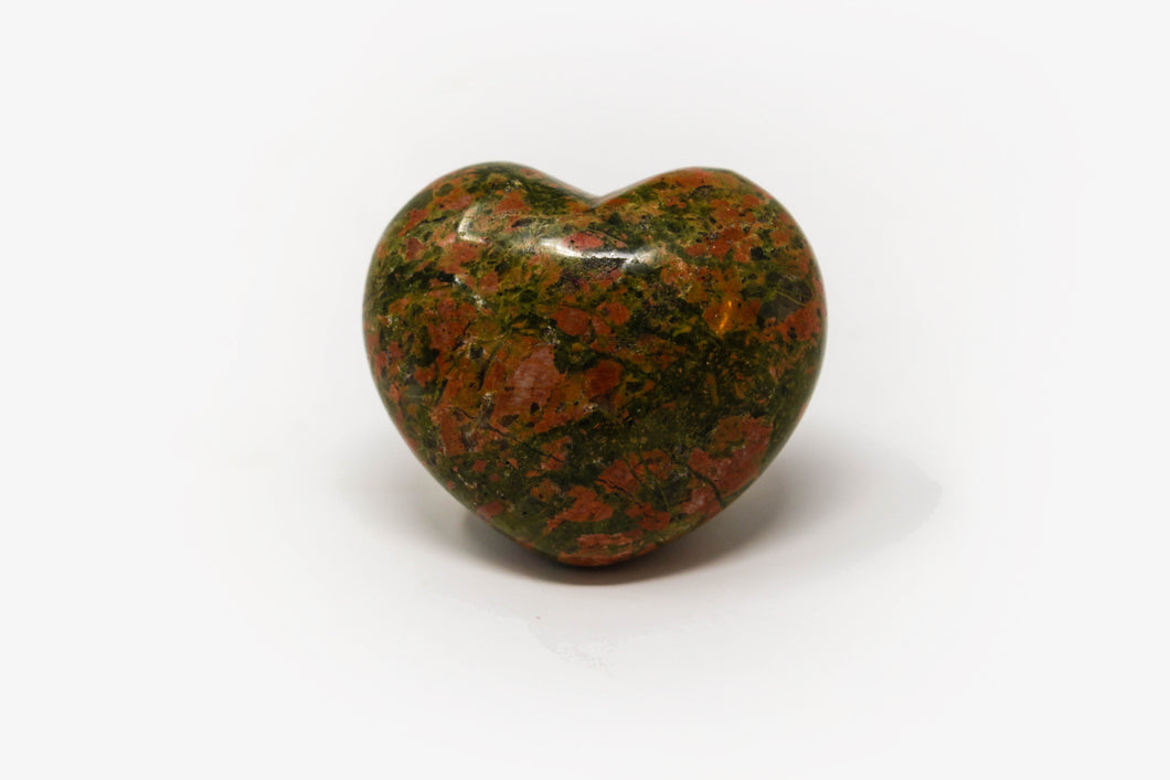 Unakite Heart - Small