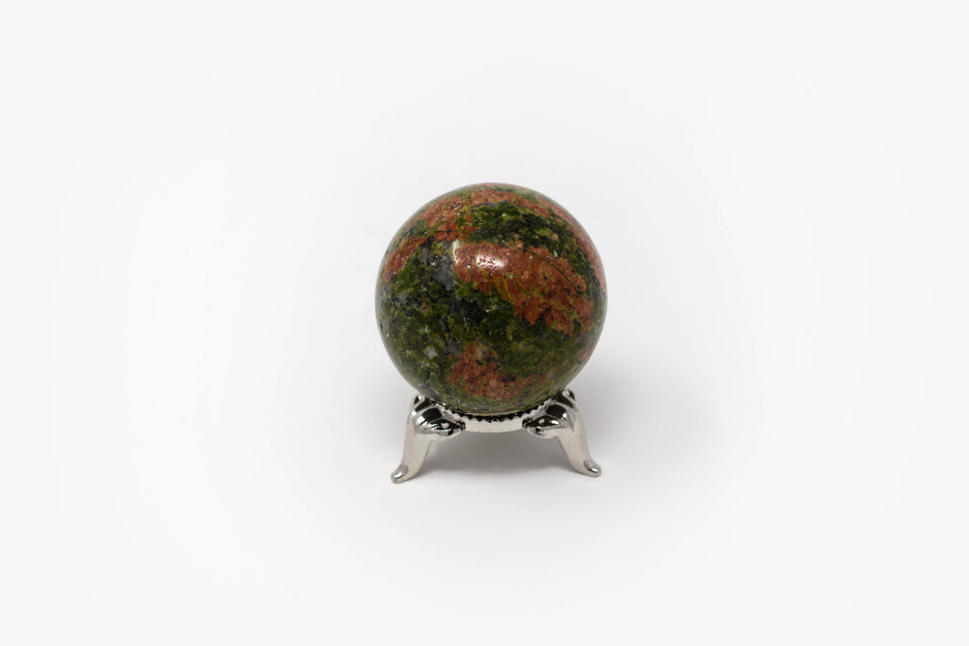 Small Unakite Sphere