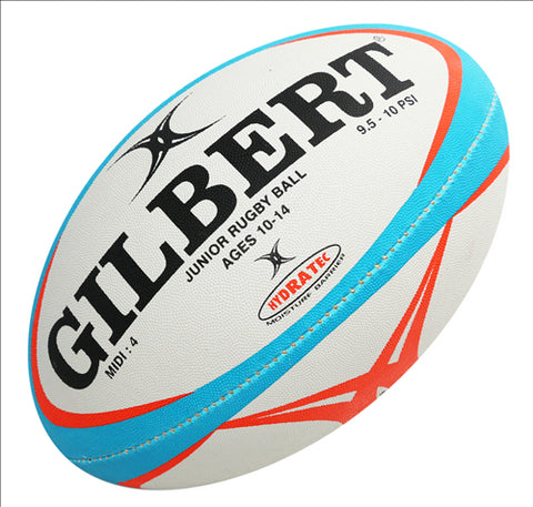 Gilbert Pathways Junior Rugby Match Ball- Size 4