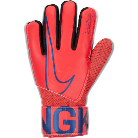Nike Jr. Match Goalkeeper Football Gloves- Red