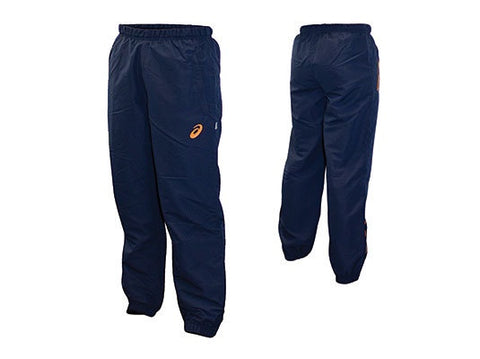 Asics Youth Coloured Warm Up Trackpants- Orange