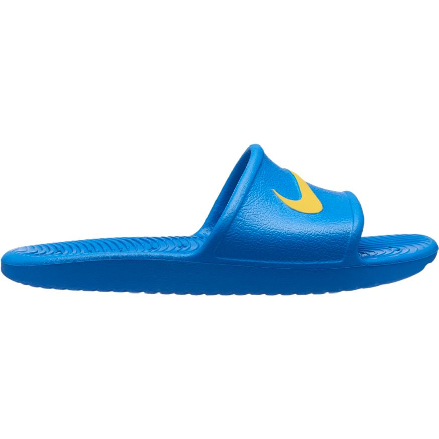 Nike Kids Kawa Shower Slide-Blue