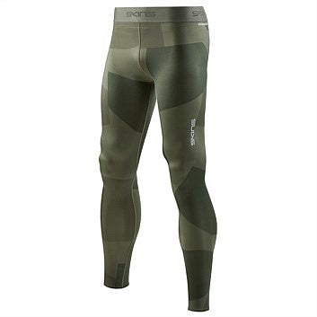 Skins Mens DNAmic Primary Long Tights- Camo Utility