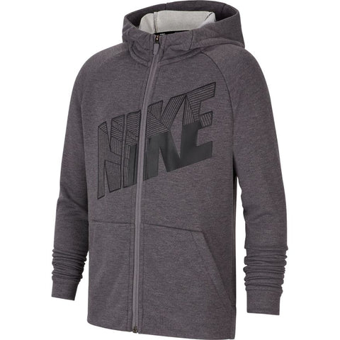 Nike Boys Dri-Fit Full Zip Graphic Training Hoodie