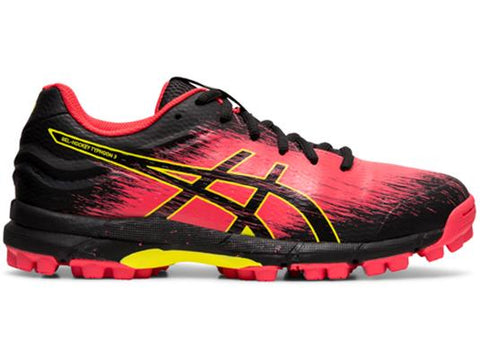 Asics Womens Gel Hockey Typhoon 3 - Pink/Black