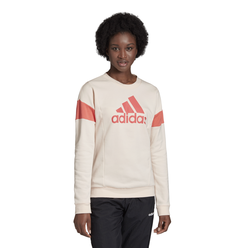 Adidas Womens Graphic Crewneck Sweatshirt