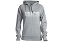 Asics Womens Fleece Hoody-Grey