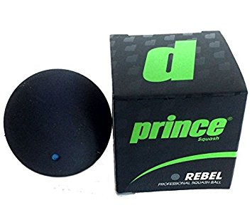 Prince Rebel Blue Dot Squash Ball