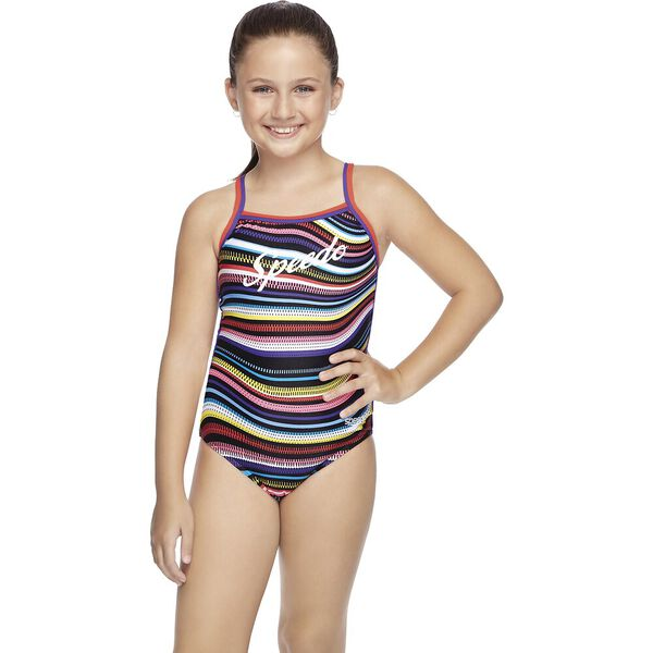 Speedo Girls Sierra One Piece - Retro Vibe