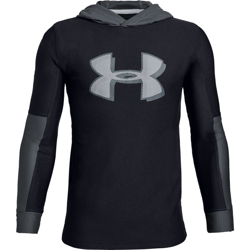 Under Armour Kids Tech Hoody- Black