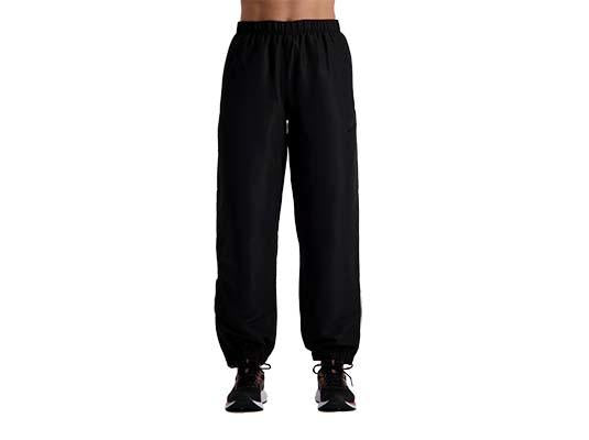 Asics Womens  Warm Up Trackpants- Black