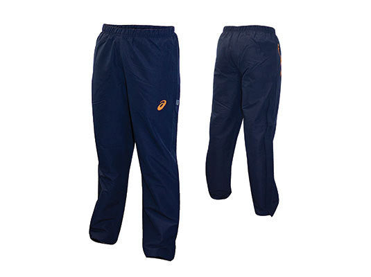 Asics Girls Coloured Straight Leg Trackpants-Orange