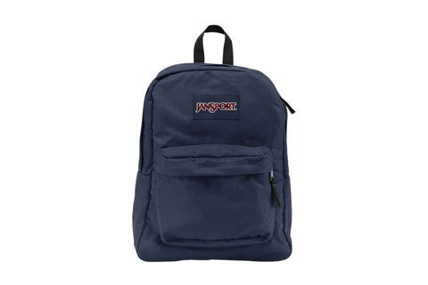 JanSport SuperBreak Backpack- Navy