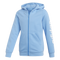 Adidas Kids Linear Full Zip Hoodie-Real Blue