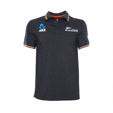 CCC Black Caps Travel Polo- 2019
