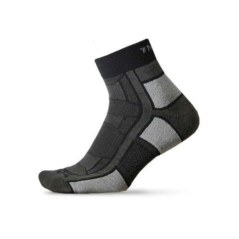 Thorlos Unisex Outdoor Athlete Sock-Black
