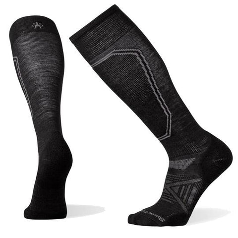 Smartwool Mens PHD Ski Light Socks - Black