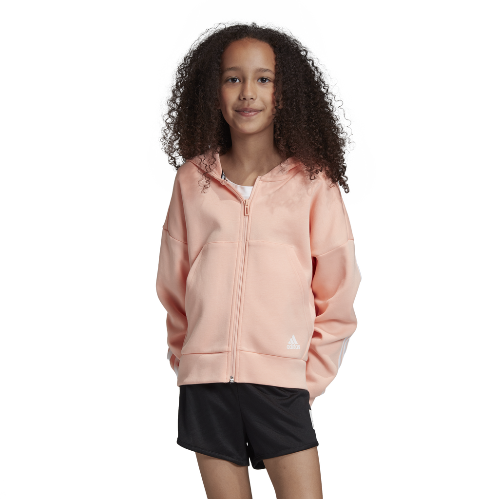 Adidas Girls Must Have 3 Stripe Hoodie