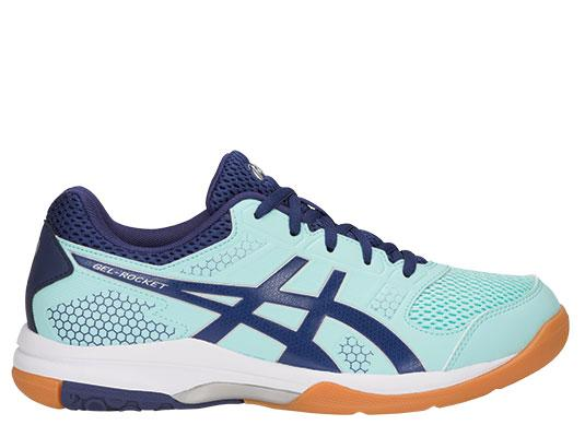 Asics Womens Gel Rocket 8- Icy Blue