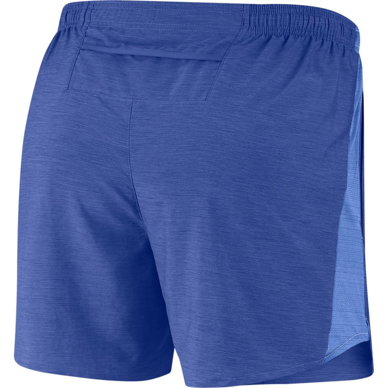 "Nike Challenger Men's 5"" Brief-Lined Running Shorts - Blue/Silver"