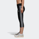 Adidas Womens D2M Training Tights-Black