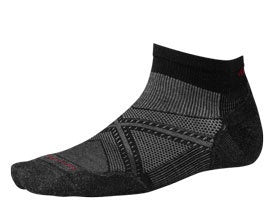 Smartwool Mens PhD Run Light Elite Low Cut Socks