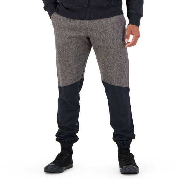 CCC Mens Hybird Cuffed Tapered Pant - Black Grey