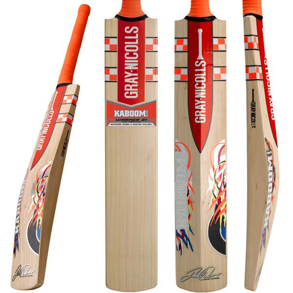 Gray Nicolls Kaboom Warner 31 Ready Play Bat