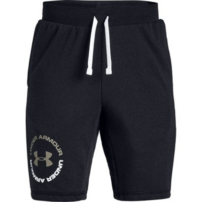 Under Armour Boys Rival Terry Short- Black