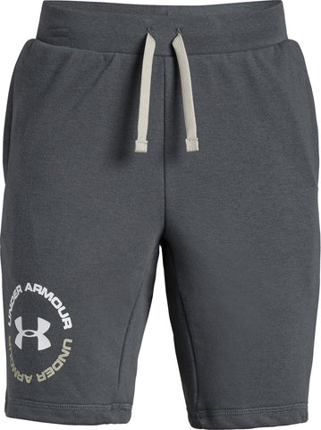 Under Armour Boys Rival Terry Short- Pitch Gray