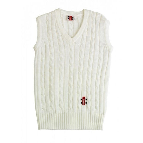 Gray Nicolls Sleeveless Cricket Sweater - Youth