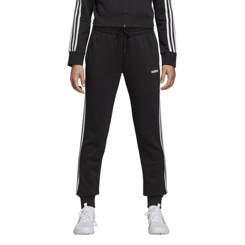 Adidas Womens Essentials 3 Stripe Joggers