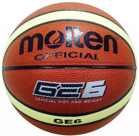 MOLTEN BGE SYNTHETIC LEATHER BASKETBALL