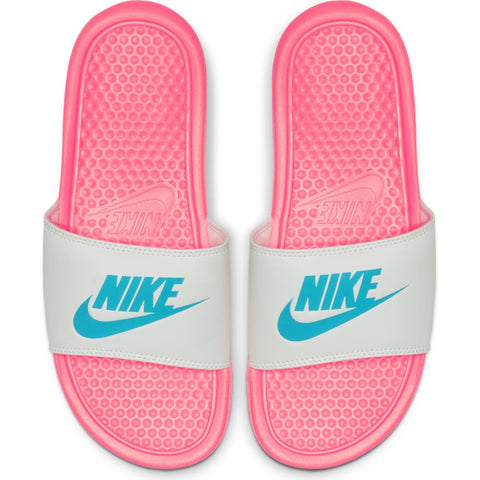 "Nike Womens Benassi ""Just Do It."" Sandal- Sunset"