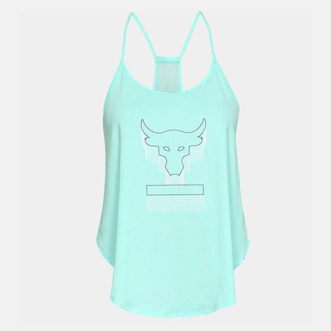 Under Armour Women's Project Rock Bull Graphic Tank
