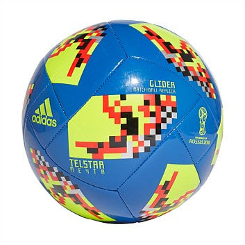 Adidas World Cup Knock Out Glider Football- Blue/Black