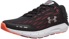 Under Armour Mens Charged Rogue-Black/Red