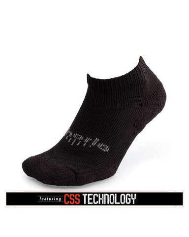 Thorlos Edge Run Micro Mini Socks - Black