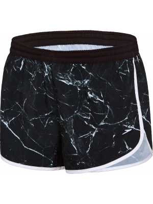 Speedo Womens Work Out Shorts- Marble Shine