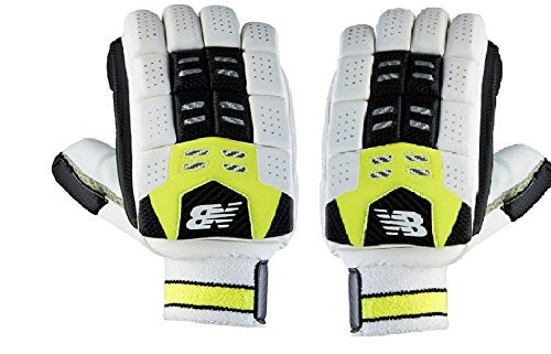 New Balance DC 680 Batting Gloves- Yellow/Black