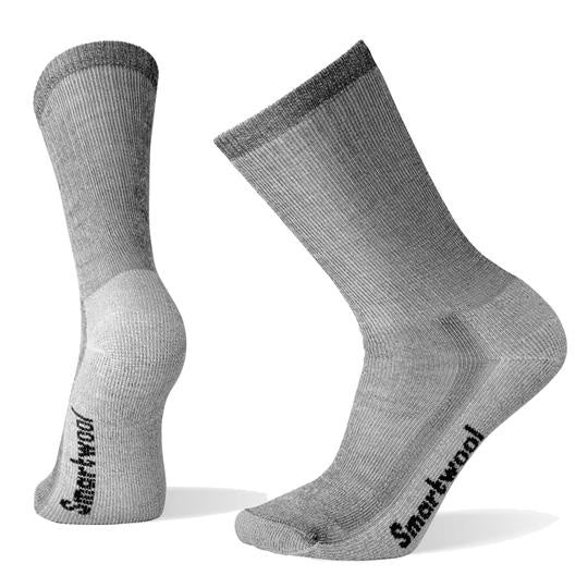Smartwool Mens Hike Crew Socks- Grey