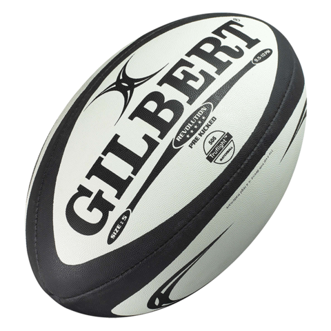 Gilbert Revolution X Rugby Ball-Size 5