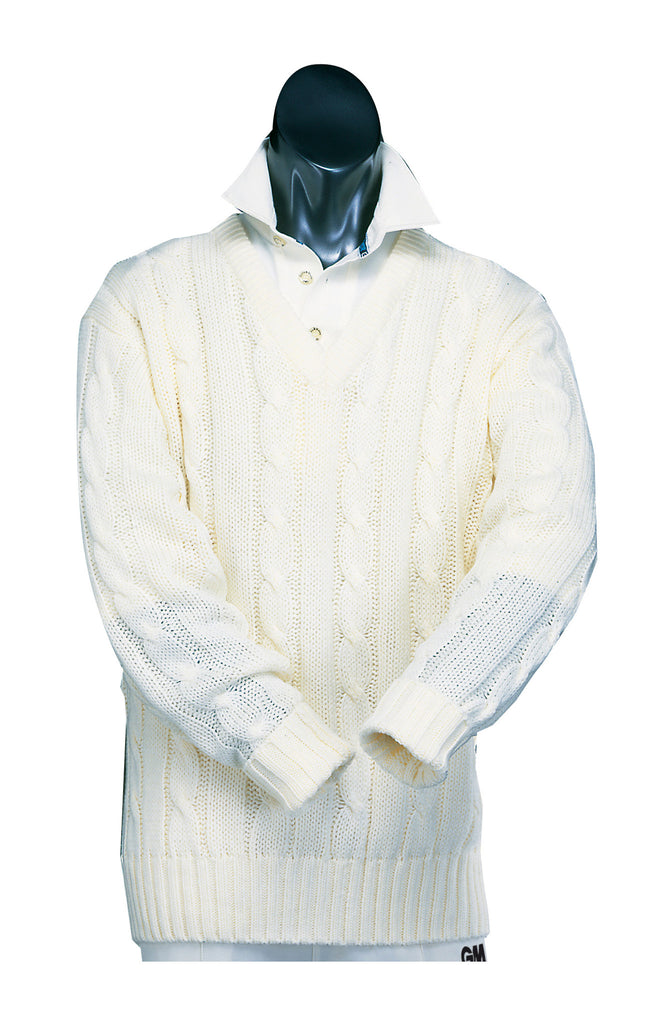 Gunn & Moore Boys Long Sleeve Cricket Sweater