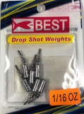 BEST Drop Shot Weights Long