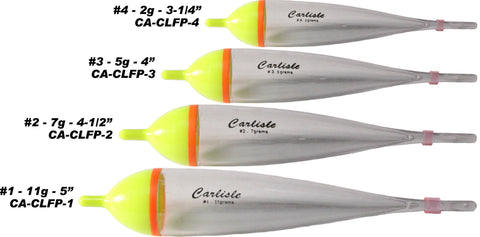 Carlisle Steelhead Sneak Floats - 2 Pack